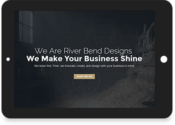 River Bend Designs Website Screenshot