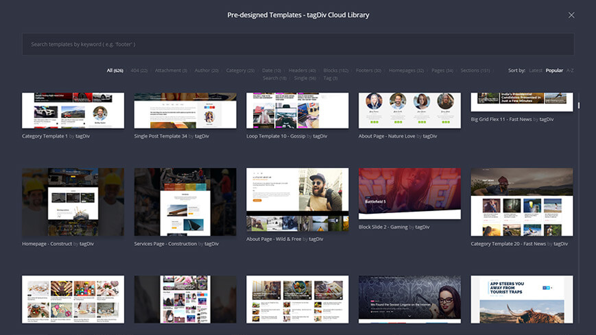 tagDiv creates professional WordPress themes
