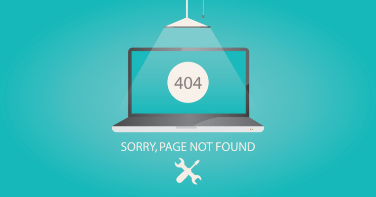 Make the most out of your 404 error page