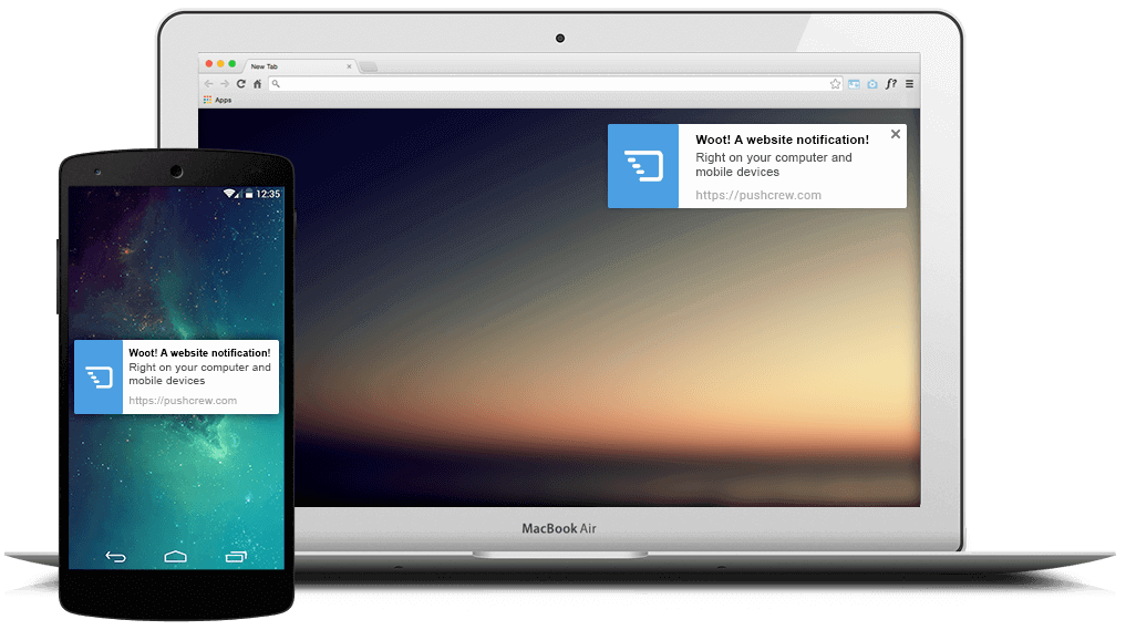 Learn here all about push notifications