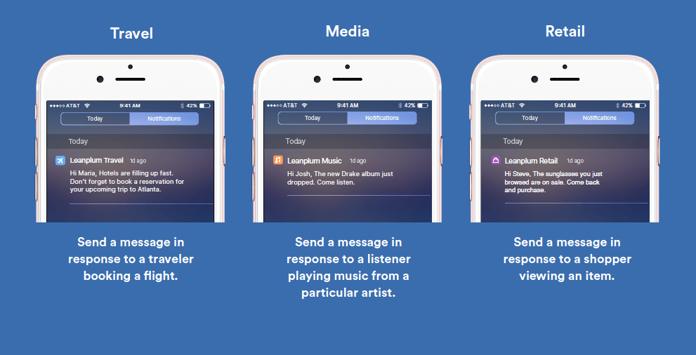Well performed push notifiations could be a great marketing tool