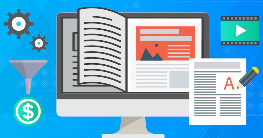 Create an ebook for your visitors