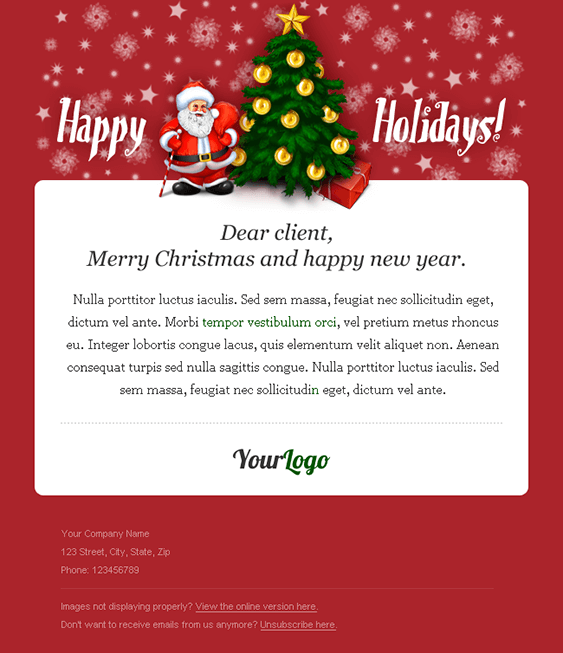 Christmascardemailtemplate