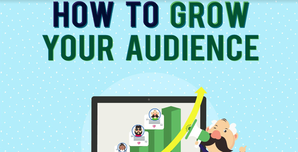 Infographic: How to Grow Your Audience